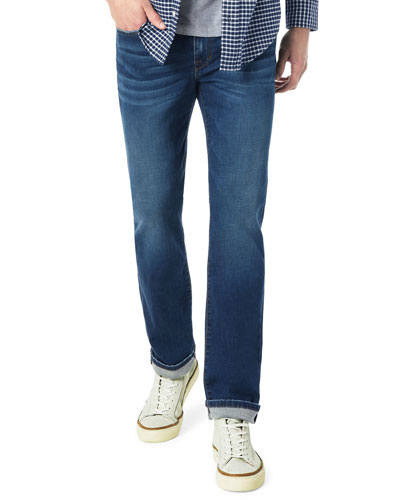 Men's The Classic Straight-Fit Denim Jeans