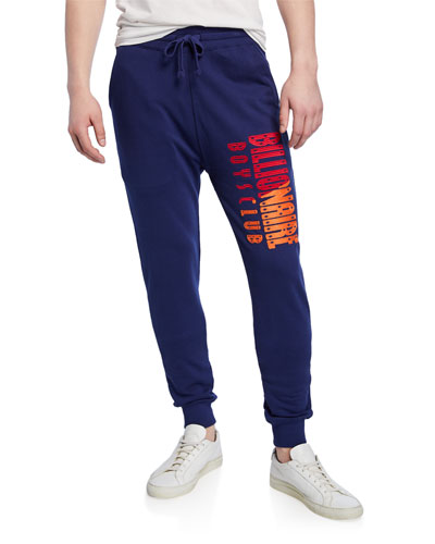 Men's Split Classic Logo Graphic Sweatpants