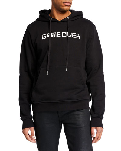 Men's Game Over Graphic Hoodie