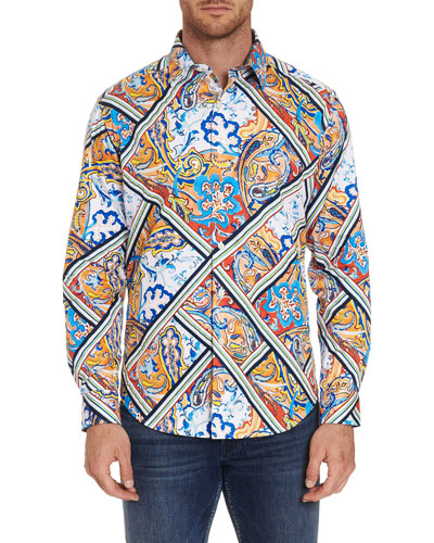 Men's Long-Sleeve Mallinson Sport Shirt