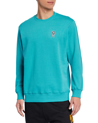 Men's Astronaut Applique Crewneck Sweatshirt
