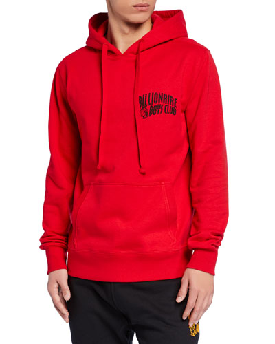 Men's Arch Logo Pullover Hoodie