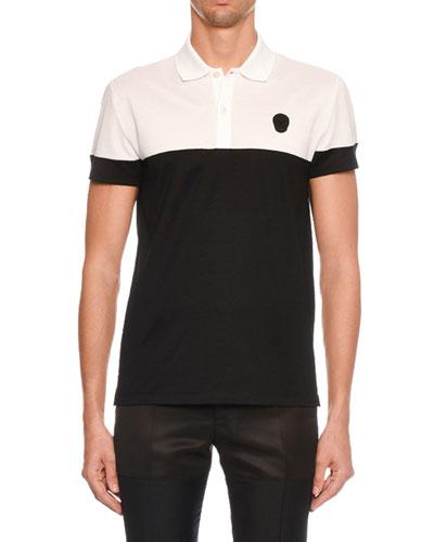 Men's Short-Sleeve Pique Polo Shirt