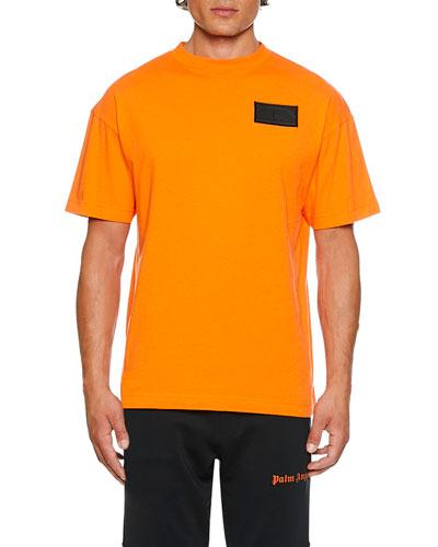 Men's Logo Patched T-Shirt