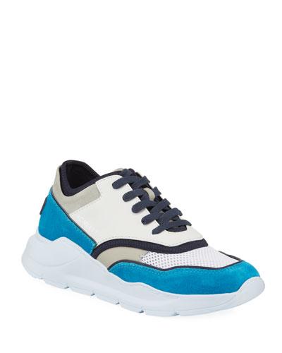 Men's Blowtech Suede Trainer Sneakers