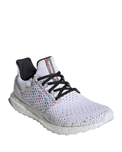 Men's UltraBOOST Running Sneaker, White/Red