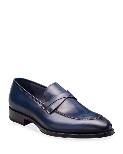 037d6b1481f Quick Look. di Bianco · Men s Deco Leather Penny Loafers