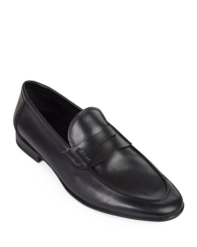 Men's Harlan Leather Penny Loafers