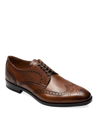 Men's Hilton Lace-Up Brogue Shoes