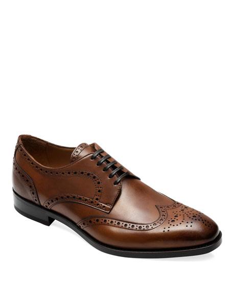 Paul Stuart Men's Hilton Lace-Up Brogue Shoes