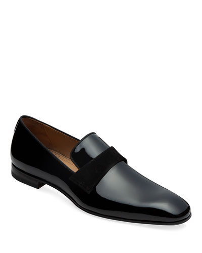 Men's Heron Patent Leather Loafers