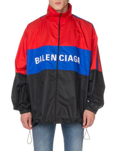 77cf2e5c0 Quick Look. Balenciaga · Men's Colorblock Track Jacket