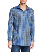 John Varvatos Star USA Men's Ashten Star Plaid