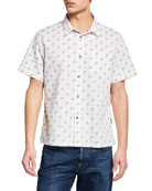 John Varvatos Star USA Men's Trent Short-Sleeve Sport
