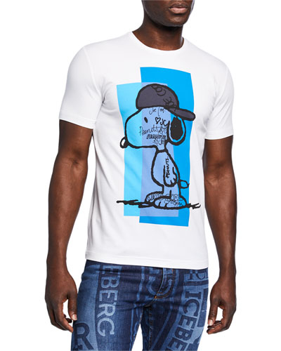 Men's Graffiti Snoopy T-Shirt