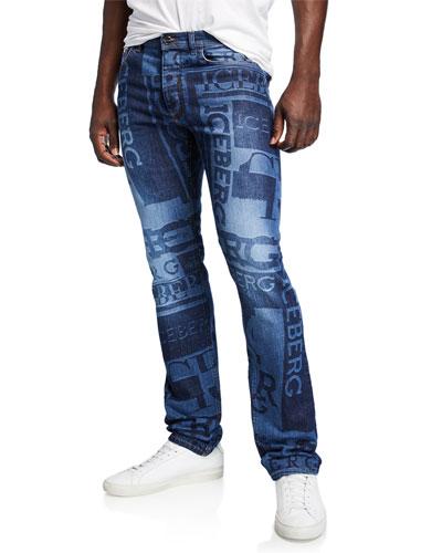 Men's Logo Denim Jeans