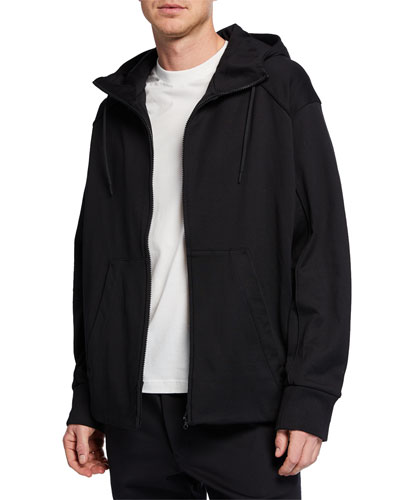 Men's Signature Graphic Zip-Front Hoodie