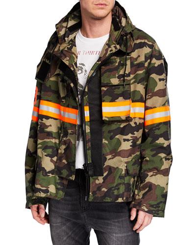 39443b6c241040 Quick Look. R13 · Men s Camo Fireman Jacket