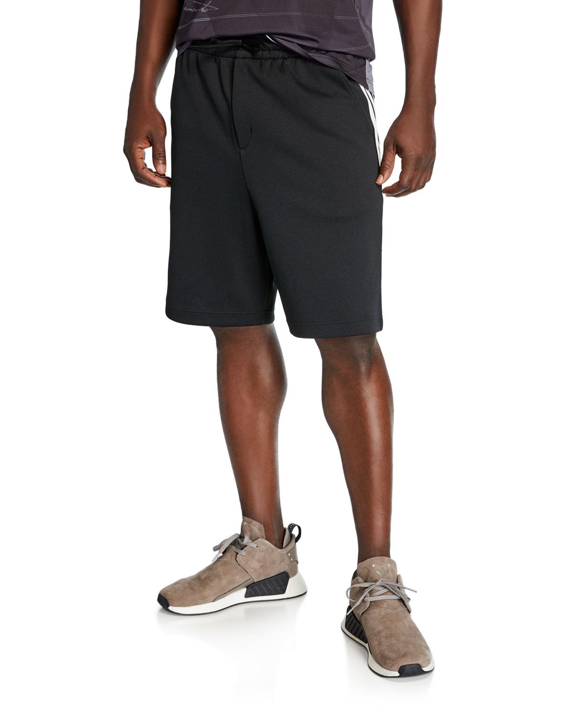 Three Stripe Track Shorts