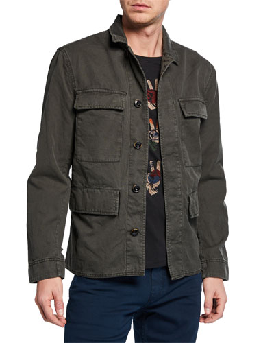 Men's Perry Twill Field Jacket