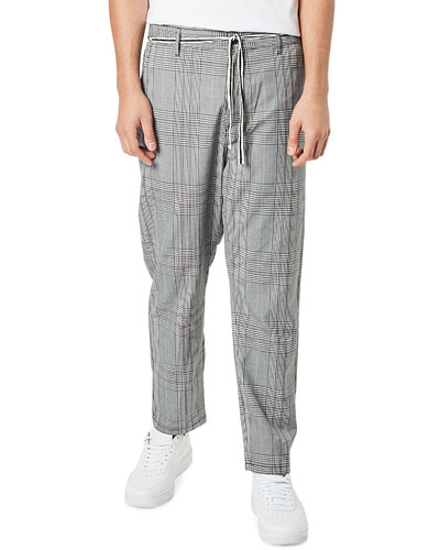 Men's Jumpa Plaid Chino Pants