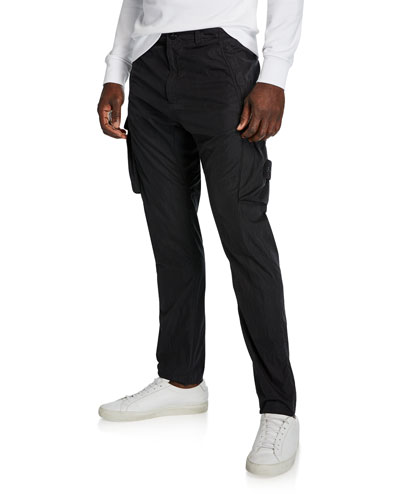 4731d7b963 Quick Look. Stone Island · Men's Tapered Twill Cargo Pants