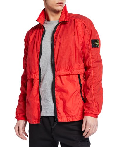 Men's Nylon Wind-Resistant Jacket