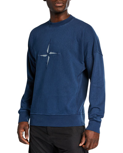 Men's 80s Washed Logo Sweatshirt