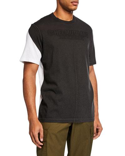 Men's Two-Tone Square T-Shirt