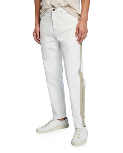 Men's Seasonal-Fit Chino Twill Pants
