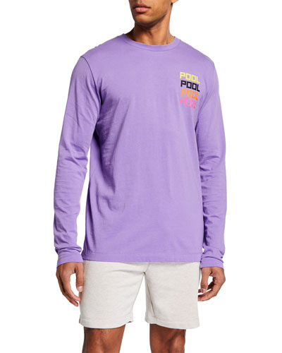Men's Streetwear Inspired Long-Sleeve T-Shirt