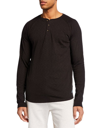 Men's Slub Long-Sleeve T-Shirt