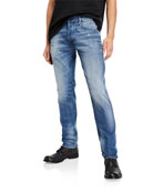 Diesel Men's D-Bazer Slim-Straight Fit Jeans