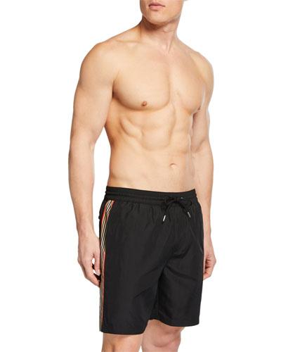 efd71168d7347 Quick Look. Burberry · Men's Guildes Logo Swim Trunks ...