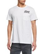 Deus Men's Venice Typographic Pocket T-Shirt