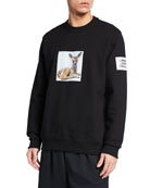Burberry Men's Fairhall Fawn Graphic Sweatshirt