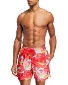 Vilebrequin Men's Moorea 24th July Ibiza Swim Trunks