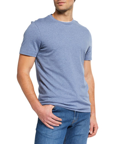 Men's Heathered Cotton T-Shirt