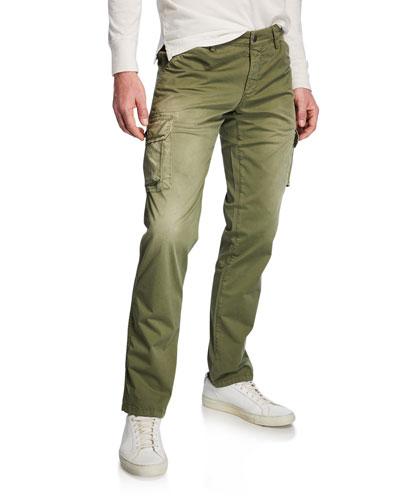 Men's Stretch-Twill Cargo Pants