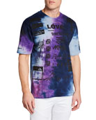 Mauna Kea Men's Multicolor Manifesto T-Shirt