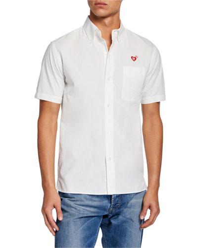 Men's Heart Rip Stop Shirt