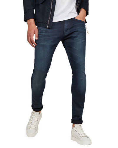 Men's 3301 Deconstructed Skinny Jeans