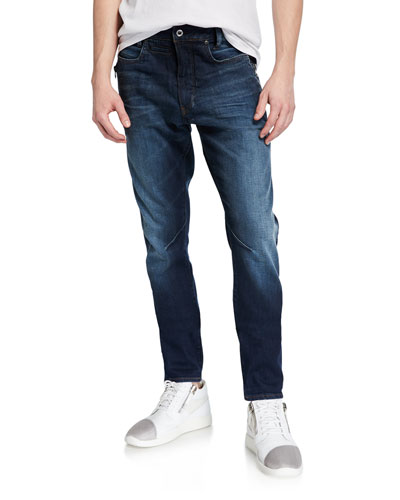 Men's D-Staq Elto Zip Slim Jeans