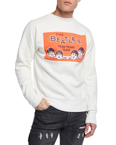Men's Beatles Graphic Sweatshirt