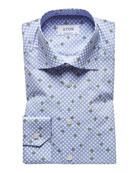 Eton Men's Avocado Dot Sport Shirt