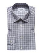 Eton Men's Check Contemporary-Fit Sport Shirt