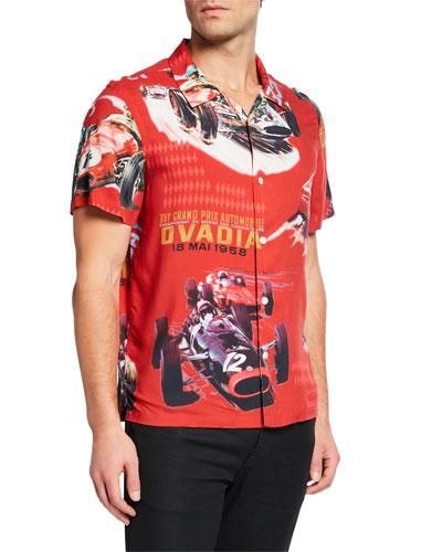 Men's x PJ Tucker Short-Sleeve Sport Shirt