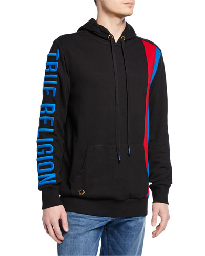 Men's Logo-Embroidered Pullover Hoodie