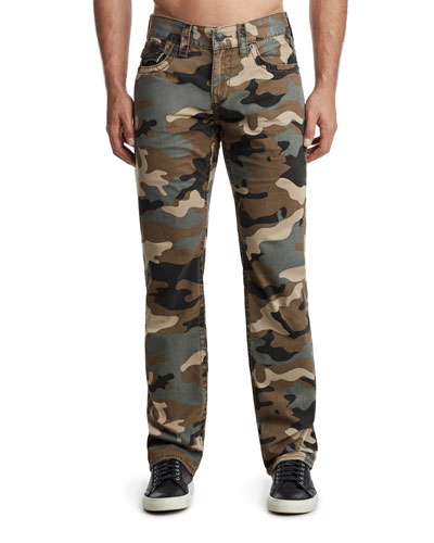 Men's Ricky Camo-Print Denim Jeans