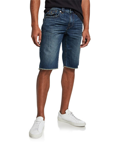 Men's Ricky Flap-Pocket Denim Shorts